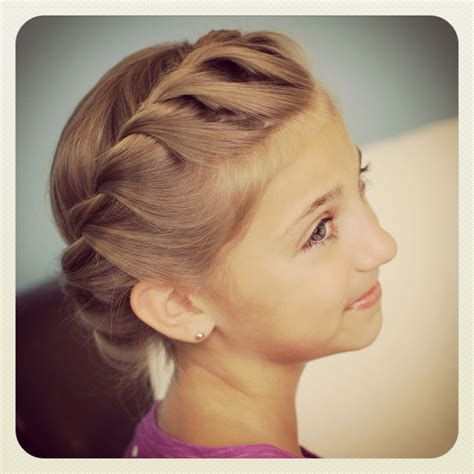 Crown Hairstyle by Crown Rope Twist Braid Updo Hairstyles