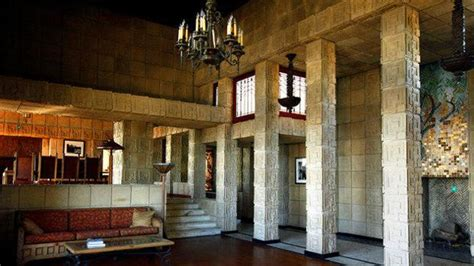 ennis house frank lloyd wright homes the charles ennis house