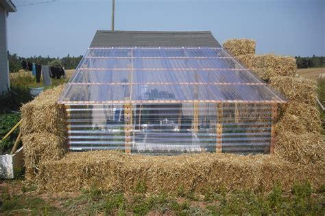 straw bale garden layout diy straw bale greenhouse home design garden