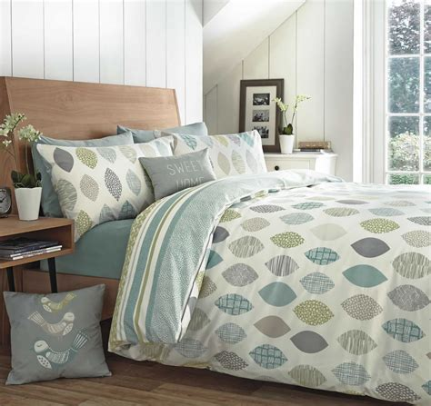 Quilt Covers by Appletree 174 Leaf Reversible Duvet Covers Quilt Set 100