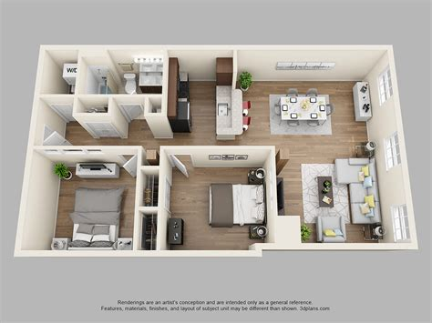 1 bedroom 2 bathroom apartment thetilleylofts 2 bedroom 1 bath