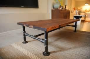 Diy Rustic Coffee Table Diy Rustic Industrial Tutorials Part 2 Andrea S Notebook