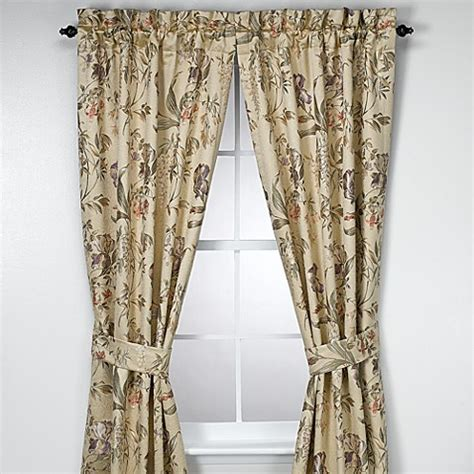 croscill curtains discontinued croscill 174 84 inch window curtain panel pair in iris bed
