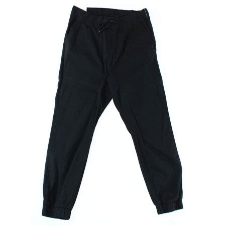 ring of clothing joggers ring of new black mens xl slim tapered drawstring