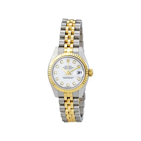 Rolex Oyster Perpetual Lady Datejust 179173 26 mm White