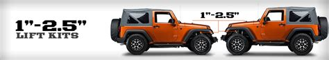 Jeep 2 Inch Lift Kit Jeep Jk Lift Kits 1 2 5 Inch 2007 2016 Wrangler Free