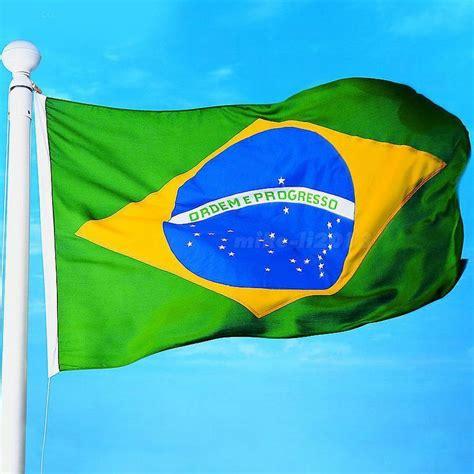 ebay brazil new large 3 x5 brazilian flag the brazil national flag