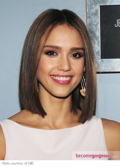 all one length haircuts medium all one length hairstyles