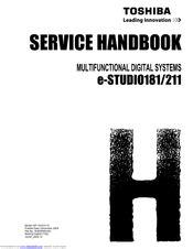 Toshiba E Studio211 Manuals