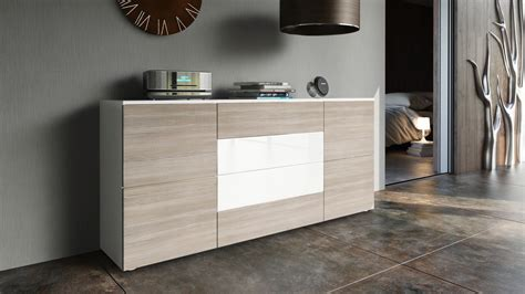 Sideboard Kommode Weiss Hochglanz by Sideboard Cabinet Rova In White High Gloss