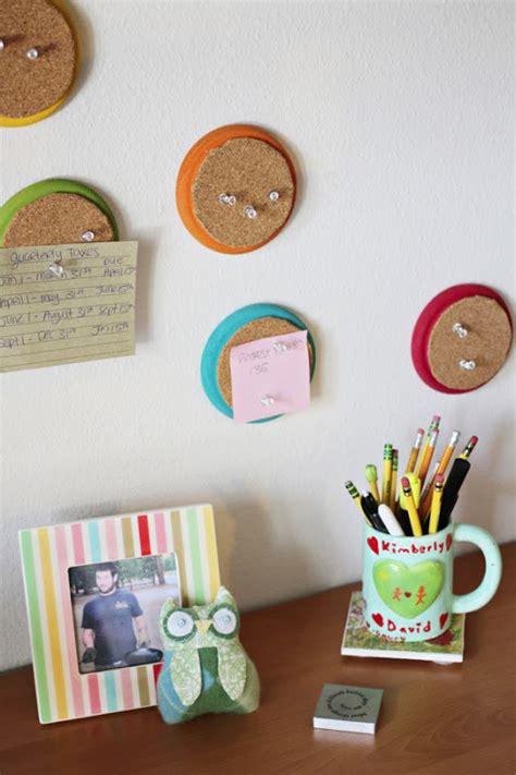 diy room decor 2017 cheap easy crafts ideas at home come fare bacheca con legno e sughero tutorial