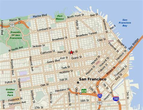 san francisco map city maps of san francisco