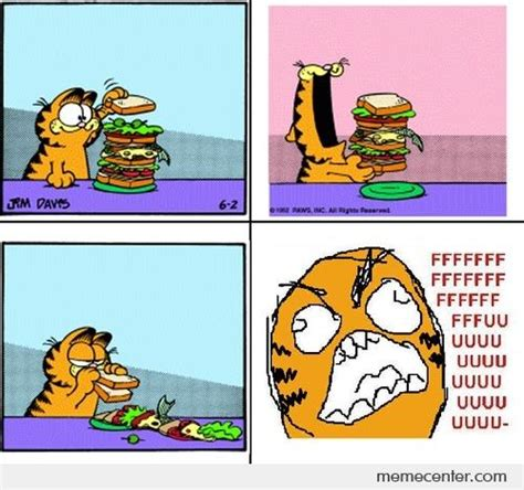 Garfield Memes - fuuuuuuu garfield by ben meme center