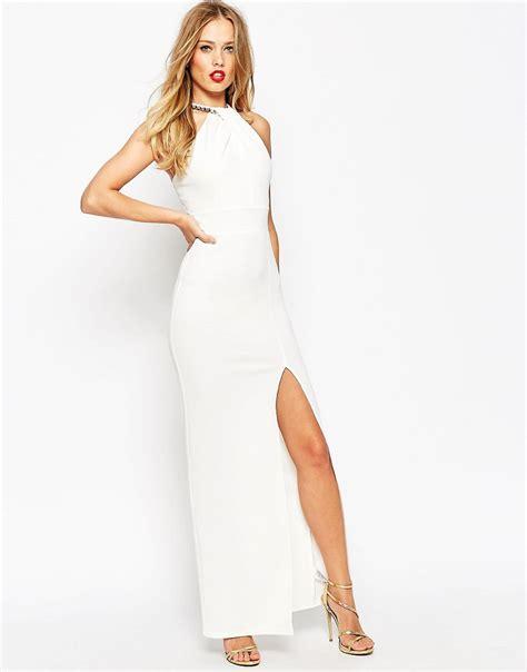 White Maxi white halter maxi dresses dresscab