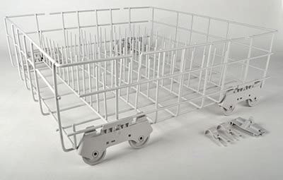 Whirlpool Dishwasher Replacement Racks by 8193795 Whirlpool Dishwasher Lower Dish Rack