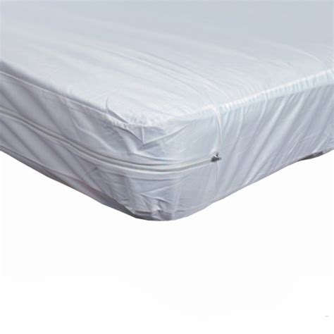 plastic bed cover twin zippered plastic mattress protector for home beds