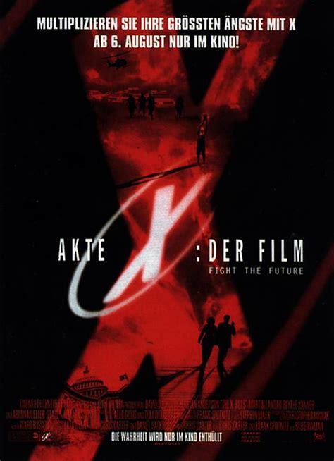 Xfiles Plakat by Filmplakat Akte X Der 1998 Plakat 1 4