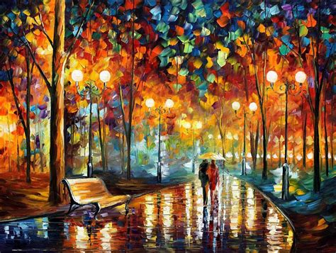 Gorden Termahal S Rustle Palette Knife Painting On Canvas By
