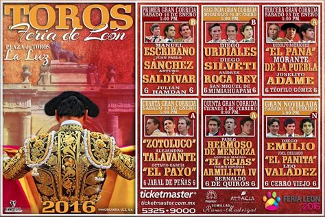 Calendario Taurino 2017 Feria 2016 Cartel De Toros Y Corridas Tauromaquias