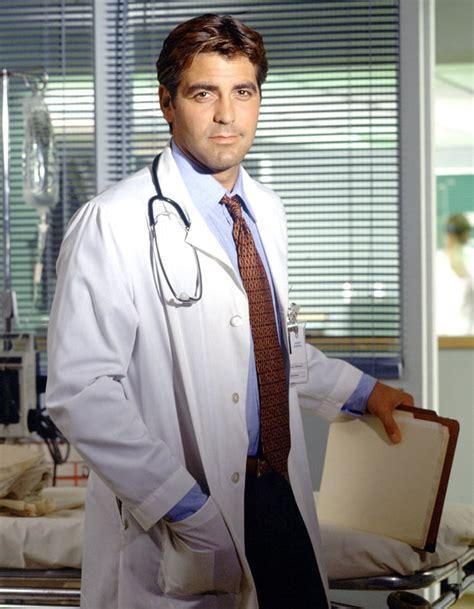 george scrubs george clooney e r tv doctors us weekly