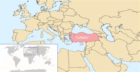 turkey on the map of europe maps world map turkey