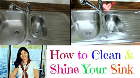 How To Clean Your Kitchen Sink How To Clean A Stainlesssteel Sink Shine Your Sink Clean Your Kitchen Sink