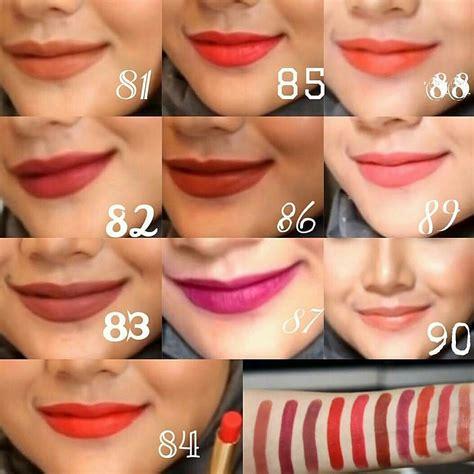 Lipstik Purbasari Matte No 92 jual lipstik matte purbasari bellika sote