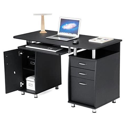 scrivanie x ufficio songmics scrivania ufficio scrivania per computer con