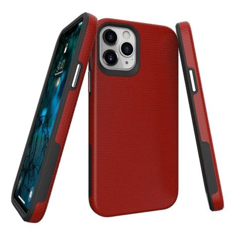 apple iphone  maxpro  rockee prodigee case red
