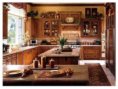 country decor for above kitchen cabinets