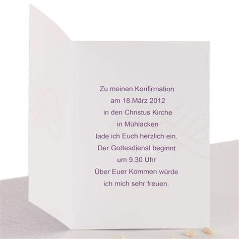 einladungskarten konfirmation text einladung