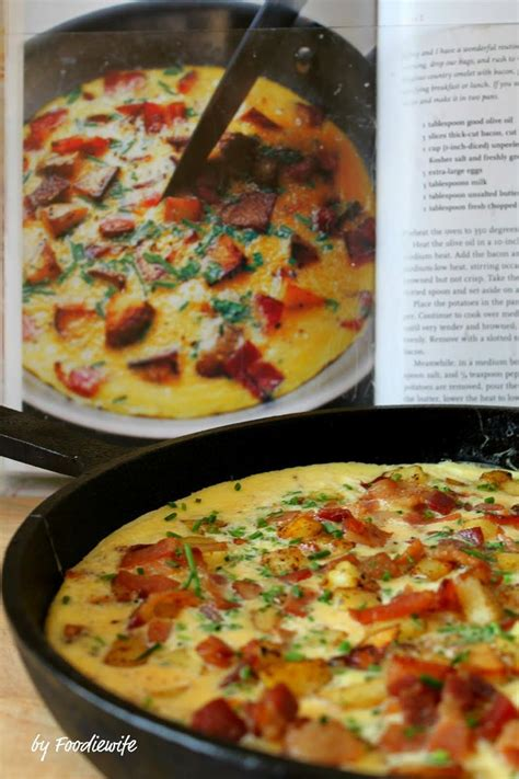 ina garten breakfast country french omelet via a feast for the eyes quot the