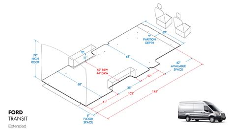 Conversion Van Floor Plans by Ford Transit Accessories Shelving Amp Racks Ranger Design