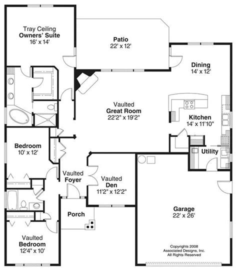 1100 square feet 1500 square feet 3 bedroom house plan house plans 1100 1400 square feet 3 bedroom 1 story 2