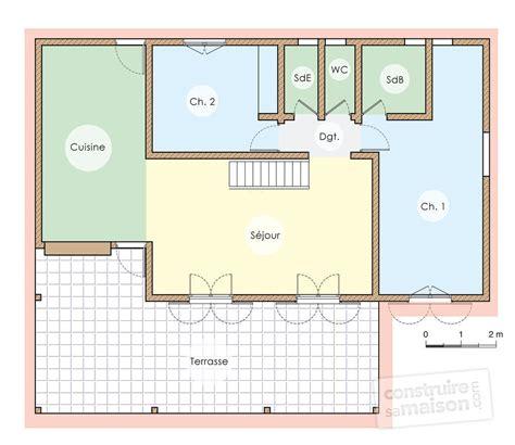 Plan Maison Tropicale Gratuit 2115 by Plan Maison Duplex Gratuit