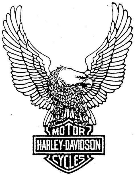 harley davidson coloring pages harley davidson symbol coloring page dibujo para