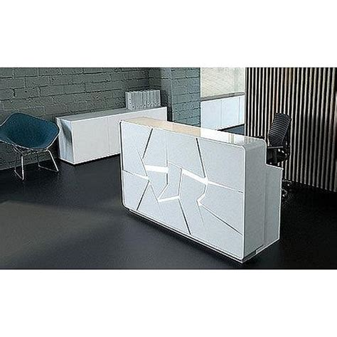 Arctic Summer Modern Design Illuminated Reception Desk Illuminated Reception Desk