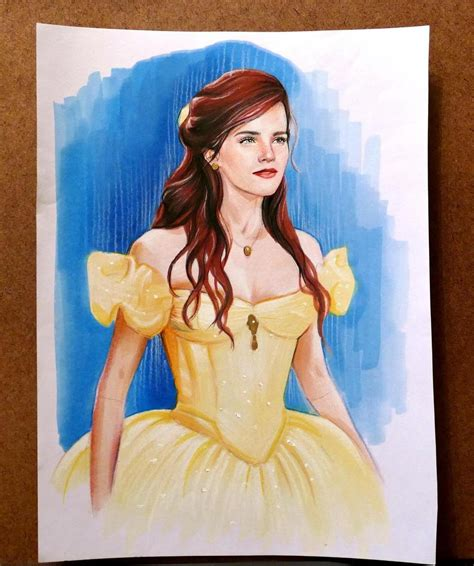 emma watson as belle see emma watson as belle from beauty and the beast
