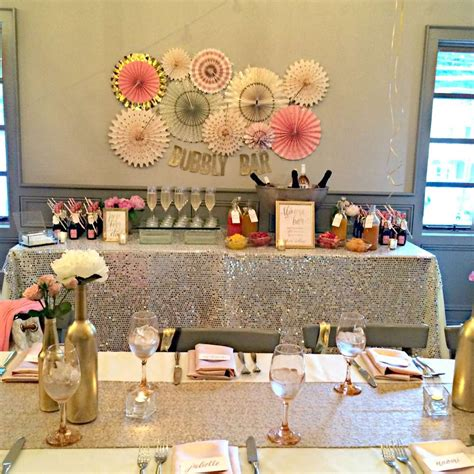 best bridal shower themes 2016 bubbly bar bridal shower bridal shower ideas themes