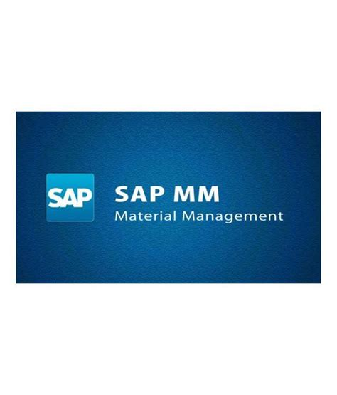 sap material management sap mm material management video lecture by sdemy buy