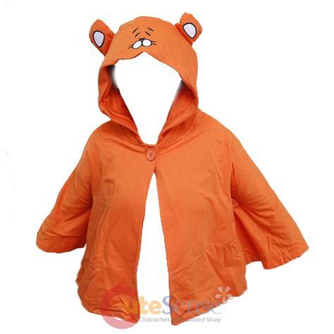 Hoodie Anime Umaru Orange himouto umaru chan cloak anime hooded pancho