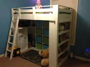 Loft Bed White Loft Bed Diy Projects