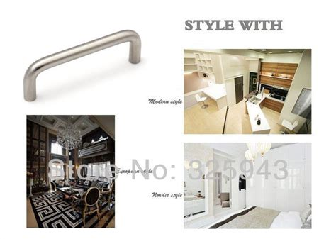 furniture hardware stainless steel kitchen cabinet handles 2pcs 96mm furniture hardware stainless steel kitchen