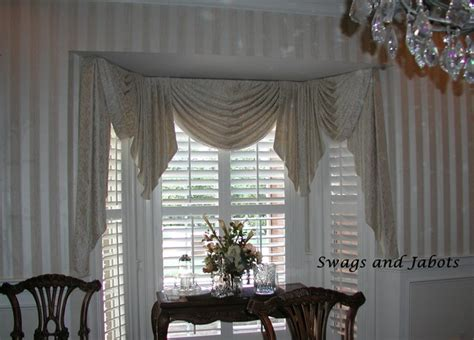 what is window treatments swags jabots eclectic window treatments other by