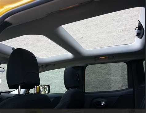 jeep renegade sunroof test drive 2015 jeep renegade latitude the daily drive