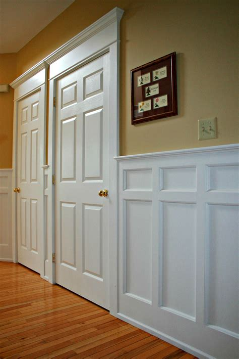 Styles Of Wainscoting by Mission Style Recessed Panel Wainscoting Door Casings Arts