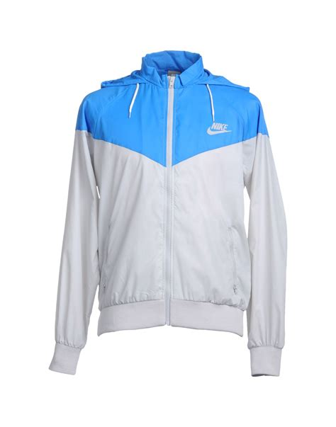 Jacket Nike nike jacket in blue for lyst
