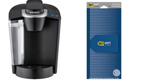 Does Best Buy Have Gift Cards - keurig k50 classic series coffeemaker only 39 99 after gift card regular 119 99