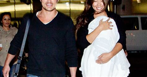 Minnillo And Nick Lachey Are Shacking Up by Minnillo Opens Up About The Quot Baby Blues Quot Quot I Felt