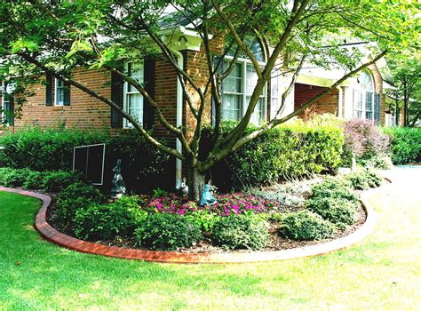 image of front yard landscaping ideas for small yards on a